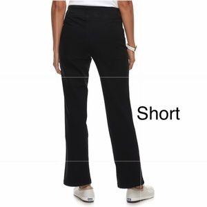 CROFT & BARROW Pull-On Mid-Rise Bootcut Jean